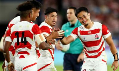 Le Japon terrasse l'Écosse et file en quarts de finale