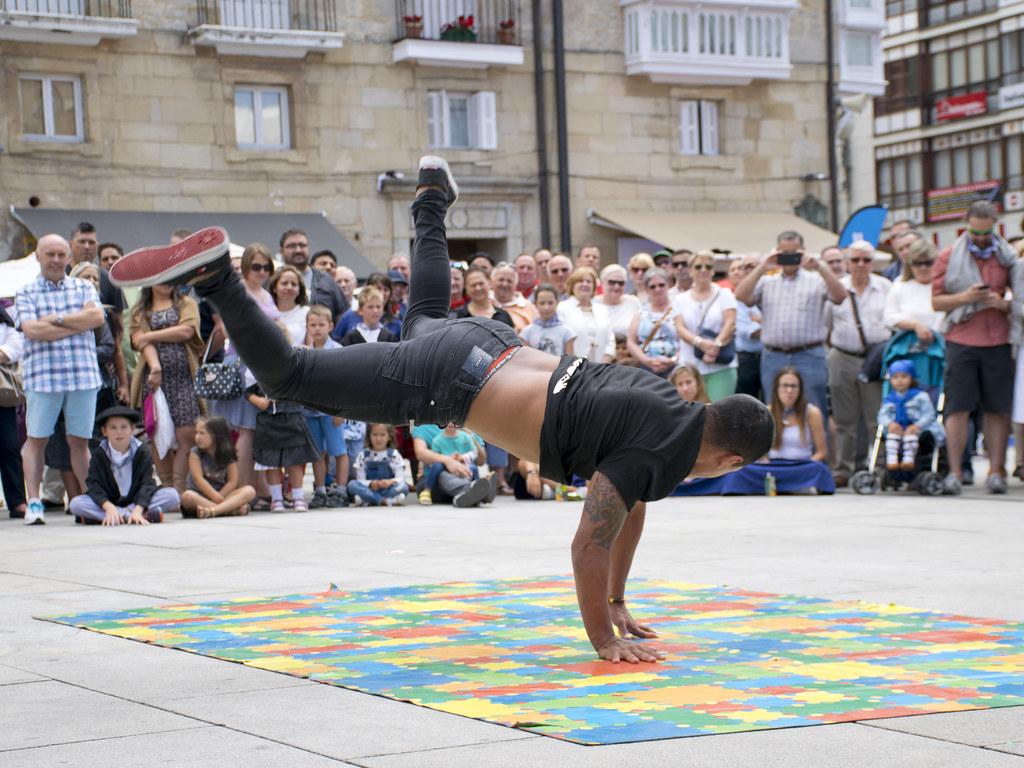 Le public est l'arbitre au breakdance