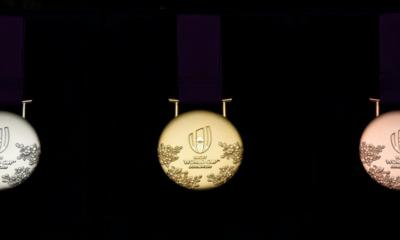 Les médailles de la Coupe du monde de rugby 2019 dévoilées