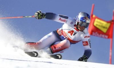 Ski - Alexis Pinturault remporte le géant d'ouverture à Sölden, Mathieu Faivre deuxième