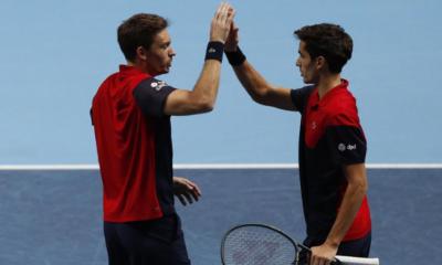 ATP Finals - Herbert et Mahut filent en demi-finales du Masters