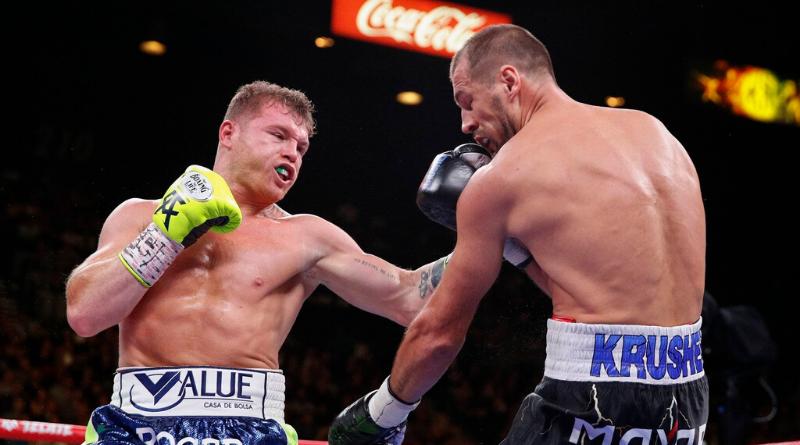 """Saul """"Canelo"""" Alvarez impitoyable face à Sergey Kovalev"""