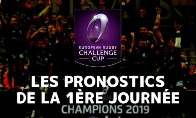 Challenge Cup - 1ère journée - Les pronostics pour les clubs français
