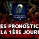 Champions Cup - 1ère journée - Les pronostics pour les clubs français