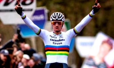 Cyclo-cross (H) - Mathieu van der Poel en démonstration à Koksijde