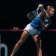 Fed Cup - Pauline Parmentier battue par Ajla Tomljanovic, le double en juge de paix