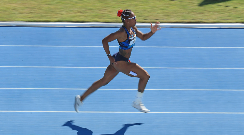 Handisport Mondiaux d'athlétisme - Mandy-François Élie en argent sur le 200m T37