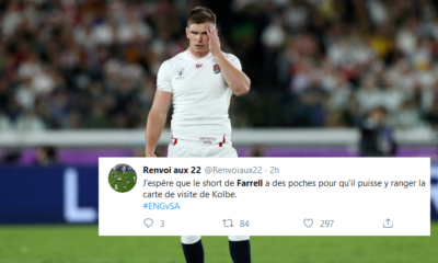 Le sacre de l'Afrique du Sud face à l'Angleterre vu par Twitter