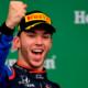 Pierre Gasly devient le plus jeune pilote français sur un podium en F1