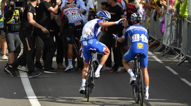 Thibaut Pinot et Julian Alaphilippe - Tour de France 2019