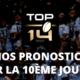 Top 14 - Nos pronostics pour la 10ème journée