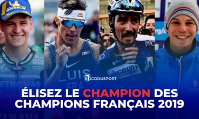 Élisez le Champion des Champions Français 2019