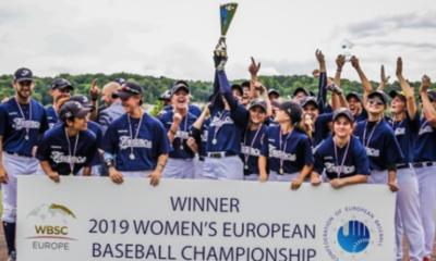 Équipe française 2019 - Les Bleues du Baseball (9èmes) ont conquis l'Europe