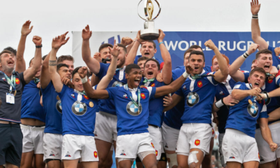 Équipe française 2019 - Les Bleuets du rugby (5èmes), l'ovalie tricolore au sommet