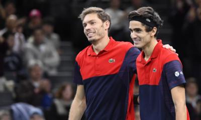 Équipe française 2019 - la paire Herbert_Mahut (7ème), double gagnant