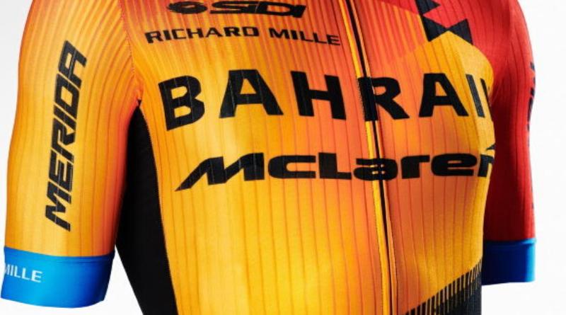 Bahrain McLaren dévoile son nouveau maillot pour la saison 2020