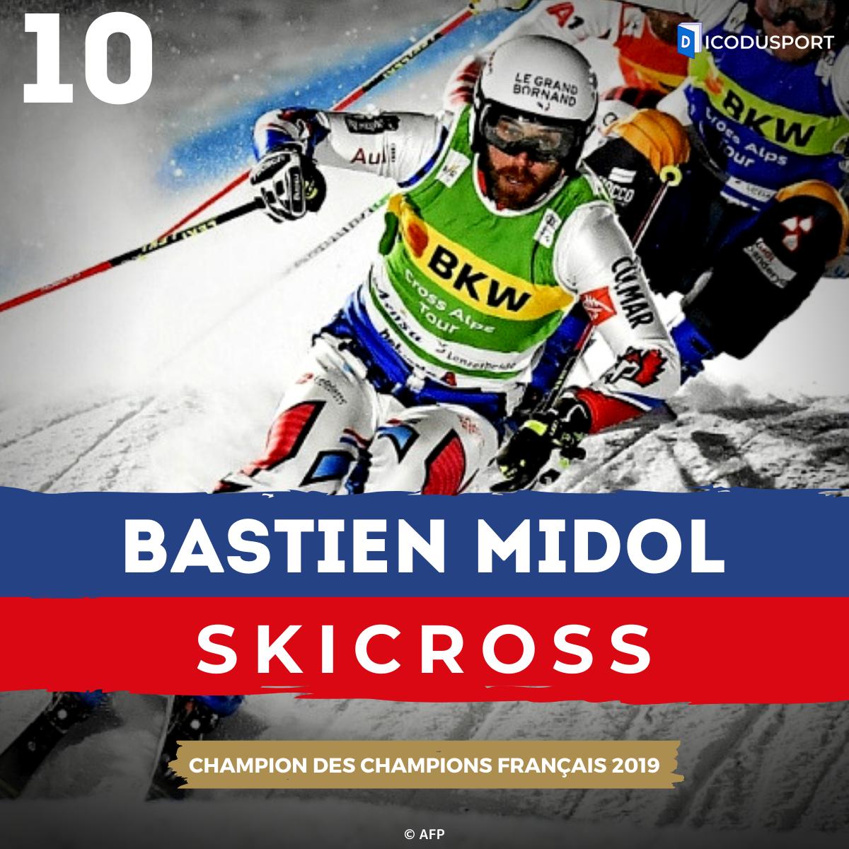 Bastien Midol est 10ème au classement du Champion des Champions français 2019
