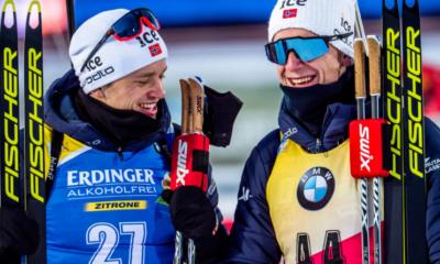Biathlon - Ostersund - Doublé des frères Boe sur le sprint