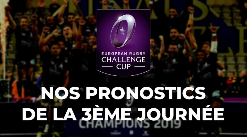 Challenge Cup - 3ème journée - Nos pronostics pour les clubs français