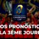 Champions Cup - 3ème journée - Nos pronostics pour les clubs français
