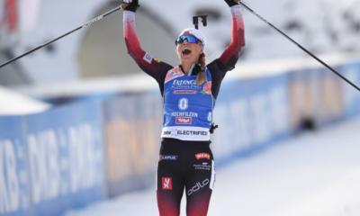 Hochfilzen - Biathlon - Tiril Eckhoff remporte la première poursuite de la saison