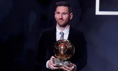 Lionel Messi Ballon d'Or