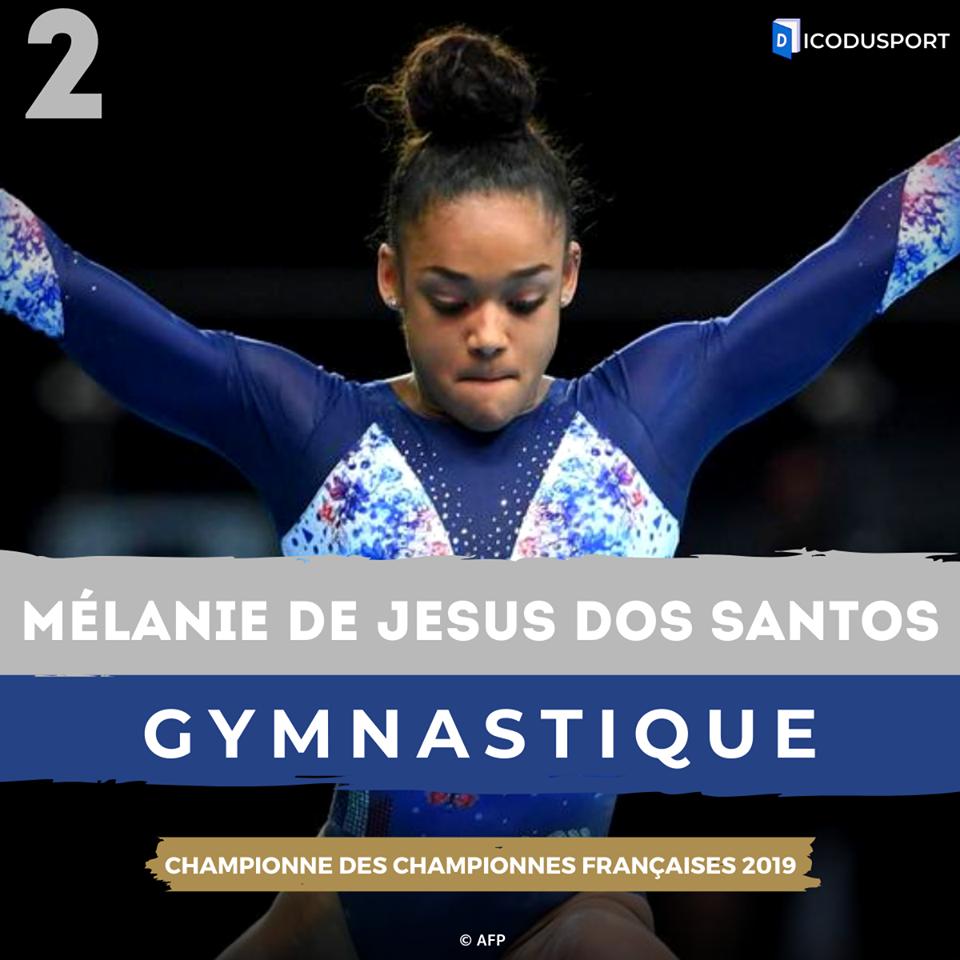 Mélanie De Jesus Dos Santos est 2ème du classement de la Championne des Championnes françaises 2019