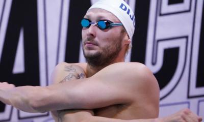 Natation - Championnats de France - Amaury Leveaux au pied du podium pour son retour