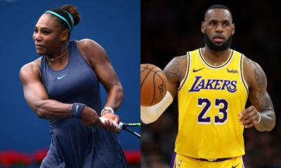 Serena Williams et LeBron James élus sportive et sportif de la décennie (2010-2019)
