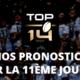 Top 14 - Nos pronostics pour la 11ème journée
