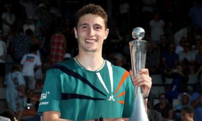 ATP Auckland - Ugo Humbert remporte son premier titre ATP en dominant Benoît Paire