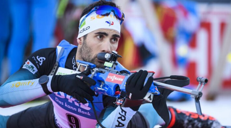 Biathlon - Oberhof - Martin Fourcade remporte le sprint devant Émilien Jacquelin