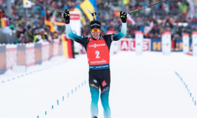 Biathlon - Pokljuka - Quentin Fillon Maillet remporte la mass start
