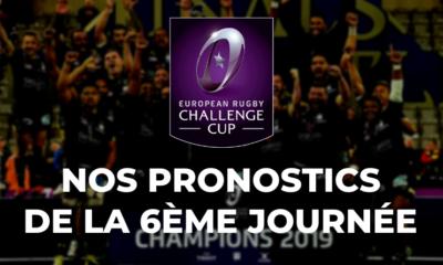 Challenge Cup - 6ème journée - Nos pronostics pour les clubs français