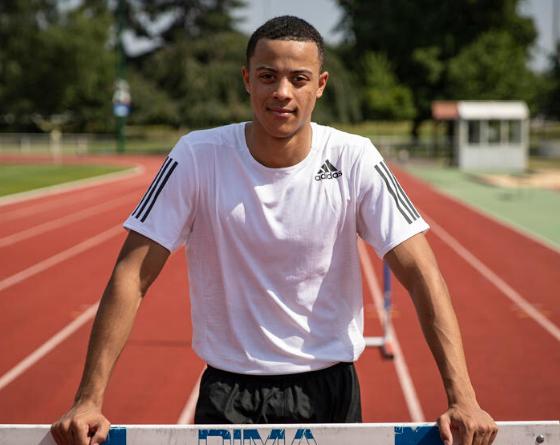 Prodige de l'athlétisme mondial, Sasha Zhoya choisit la France