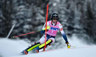 Ski alpin - Clément Noël enlève le slalom de Wengen
