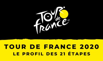 Tour de France 2020 - Le profil des 21 étapes