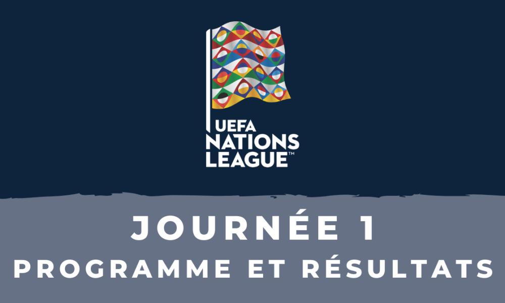 Football   Calendrier Ligue des nations 2020/2021   1ère journée