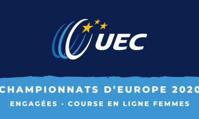 Championnats d'Europe 2020 - Course en ligne femmes : la liste des engagées