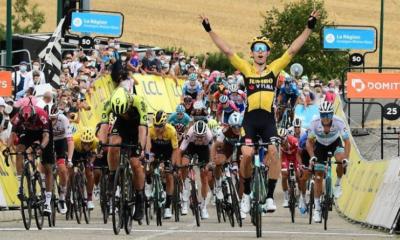 Critérium du Dauphiné : Wout Van Aert impérial sur la 1ère étape