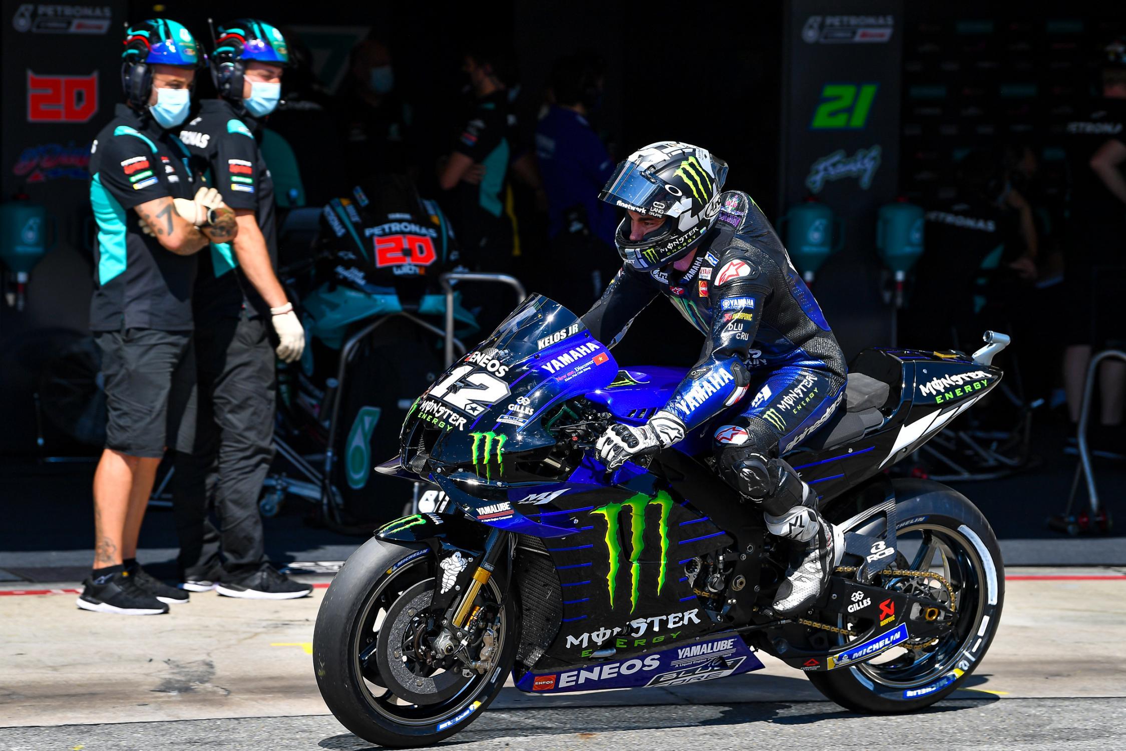 La pole pour Vinales au GP d'Autriche, Quartararo bien placé — MotoGP