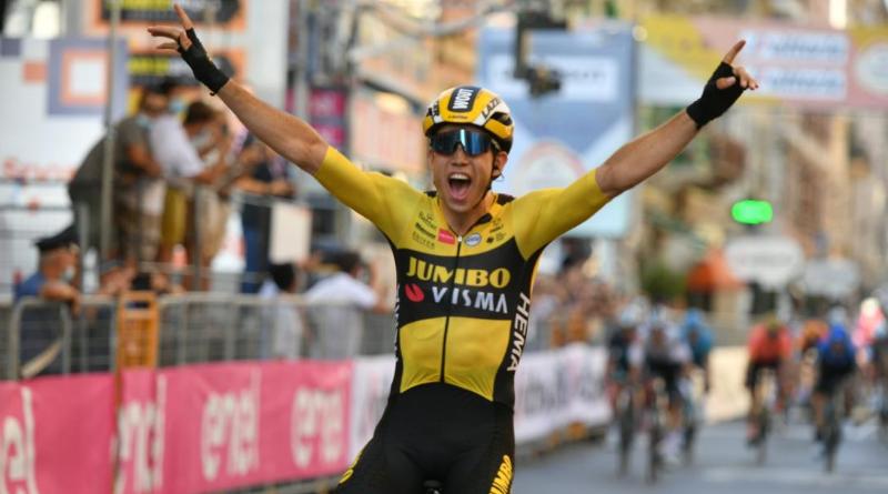 Milan-San Remo - Wout Van Aert s'impose devant Julian Alaphilippe