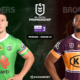 NRL : notre pronostic pour Canberra Raiders - Brisbane Broncos