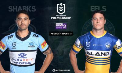 NRL : notre pronostic pour Cronulla Sharks - Parramatta Eels