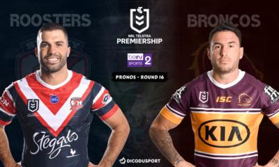 NRL : notre pronostic pour Sydney Roosters - Brisbane Broncos