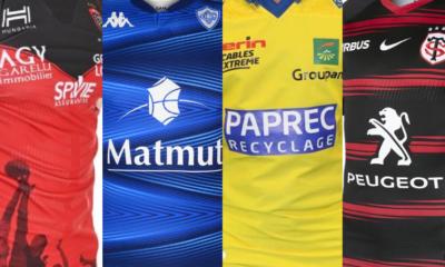 Top 14 : les maillots de la saison 2020-2021 en images