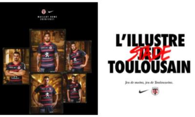 Top 14 - Stade Toulousain - Le maillot domicile pour la saison 2020_2021 dévoilé