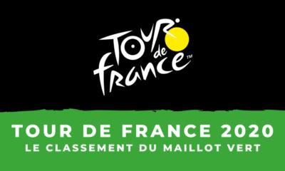 Tour de France 2020 : Le classement par points - Maillot vert