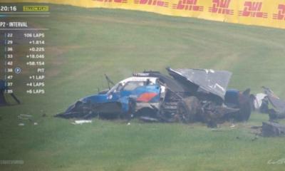 [Vidéo] WEC : le terrible crash de Thomas Laurent