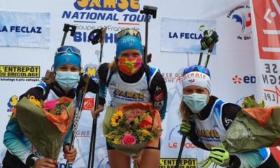 Championnats de France : Anaïs Bescond et Quentin Fillon Maillet font le doublé sur la poursuite